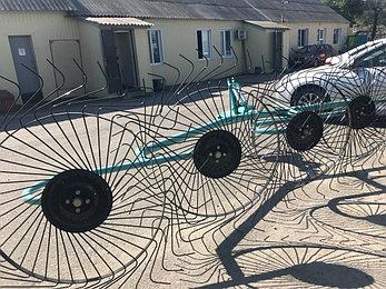 Грабли-ворошилки OGR-5ти колесные, фото 2
