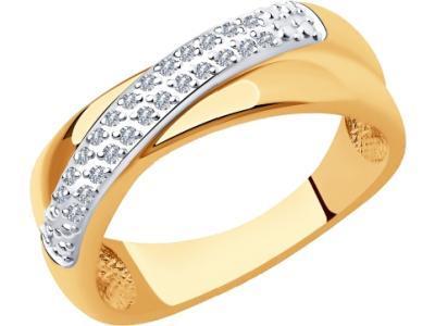 Золотое кольцо SOKOLOV 1012009_175