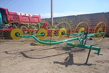 Грабли-ворошилки PZ-240/PZ-250 (4х колесные,5ти колесные), фото 2