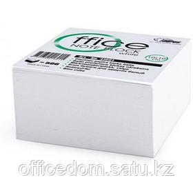 Блок бумаги д/заметок 90х90мм прокл. 500л., белый