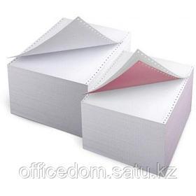 Бумага д/принтеров с перф. 375мм, 2000л., белая