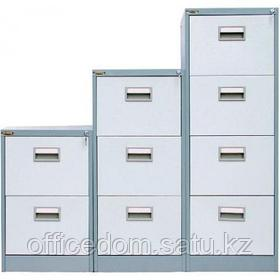Картотечный шкаф President FC02, 2 ящ, серый