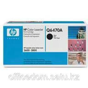 Картр. д/лаз. принт. HP LaserJet 3600/3800/CP 3505, Q6470A, черный