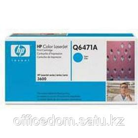 Картр. д/лаз. принт. HP LaserJet 3600/3800/CP 3505, Q6471A, голубой