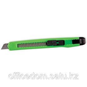 Нож канцелярский 9мм, ассорти