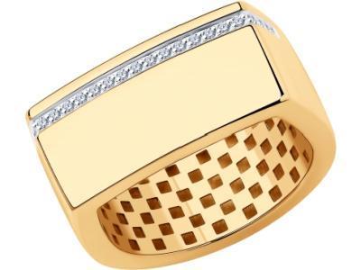 Золотое кольцо SOKOLOV 1011964_18