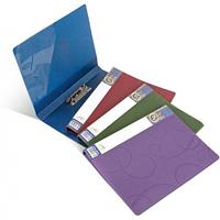 Папка для бумаг с прижимом BAROCCO РР А4, 600мк, фиолетовый