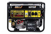 Электрогенератор Huter DY6500LX с колесами и аккумулятором