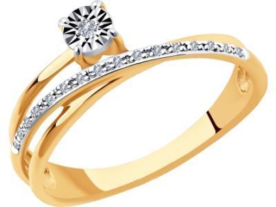 Золотое кольцо SOKOLOV 1011934_165