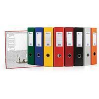 """Папка-регистратор """"Eco"""" А4 с бок. карманом, 70мм, оранжевый"""