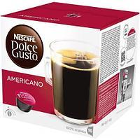 Кофе в капсулах Dolce Gusto Americano, черный, 16 шт/уп