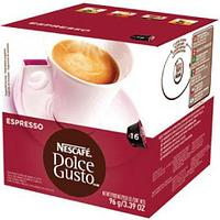 Кофе в капсулах Dolce Gusto Espresso, черный, 16 шт/уп