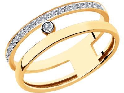 Золотое кольцо SOKOLOV 1011933_18