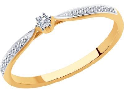 Золотое кольцо SOKOLOV 1011920_17