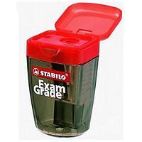 Точилка с контейнером Stabilo Exam Grade в блистере (4518BLE)