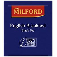 Чай черный Milford English Breakfast, 200 х 1,75г, купаж ассамских и кенийских чаев, в конвертах