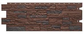 Фасадные панели STEIN Дёке Темный орех 1098x400 мм (0,44 м2)