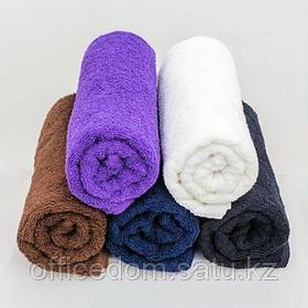 Полотенце махровое, 100x180см, фиолетовое, Beautyfor