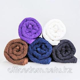 Полотенце махровое, 30x50см, белое, Beautyfor