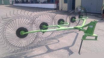 Грабли-ворошилки Турция Agrolead 3,3м (5тиколесные), фото 2