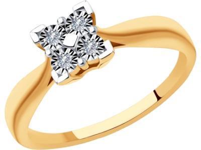 Золотое кольцо SOKOLOV 1011890_17