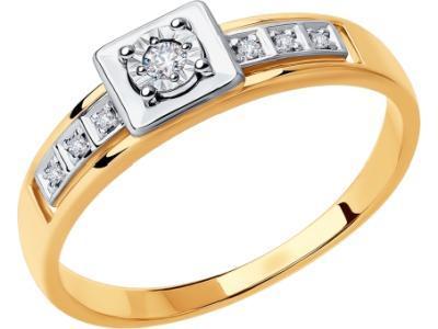 Золотое кольцо SOKOLOV 1011876_17