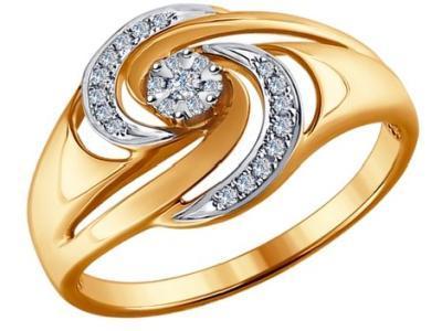 Золотое кольцо SOKOLOV 1011876_175