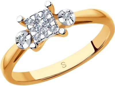 Золотое кольцо SOKOLOV 1011870_17