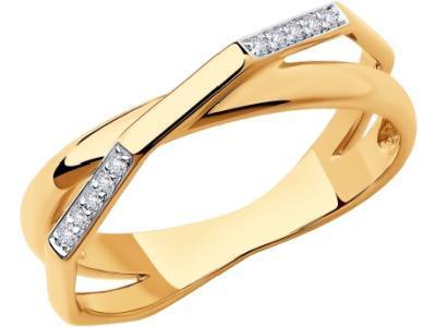 Золотое кольцо SOKOLOV 1011865_185