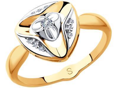 Золотое кольцо SOKOLOV 1011856_17