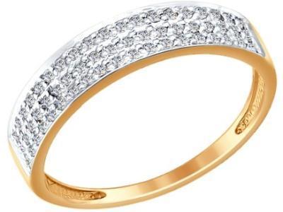 Золотое кольцо SOKOLOV 1011845_18