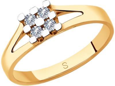Золотое кольцо SOKOLOV 1011845_175
