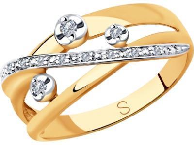 Золотое кольцо SOKOLOV 1011842_175