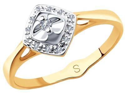 Золотое кольцо SOKOLOV 1011836_165