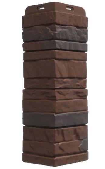Угол Наружный STEIN Дёке Темный орех 400х185х145 мм