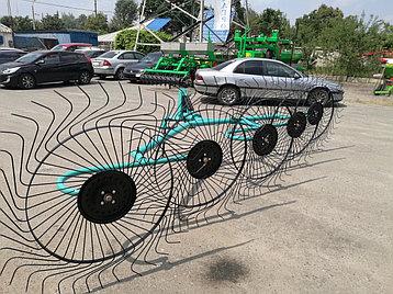 Грабли-ворошилки OGR 3.3м колесно-пальцевые (усиленные), фото 2