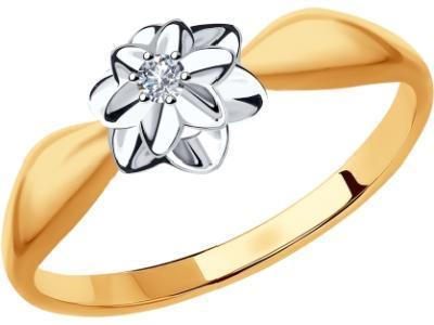 Золотое кольцо SOKOLOV 1011810_165