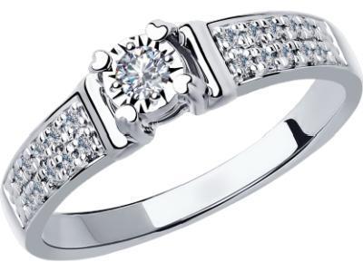 Золотое кольцо SOKOLOV 1011801_17