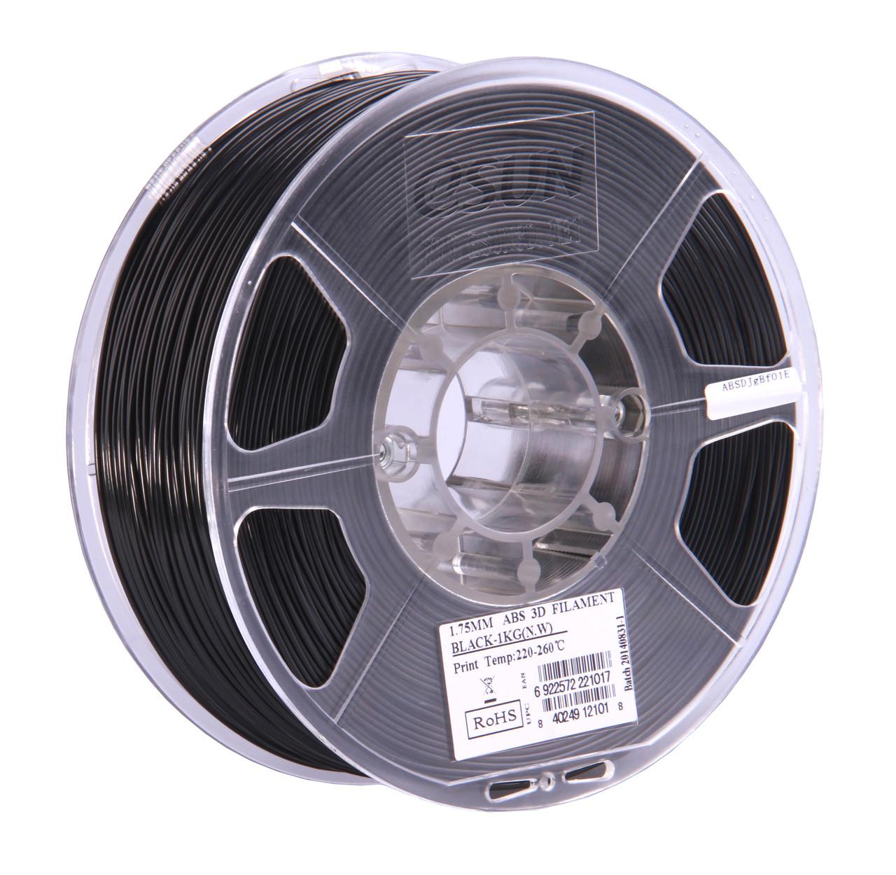 ABS PLUS пластик eSUN Черный 1.75