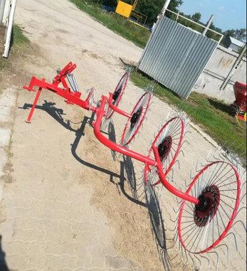 Грабли-ворошилки колесно-пальцевые 2.4м 3.0м D-pol (аналог Польша), фото 2