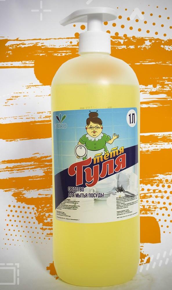 """Средство для мытья посуды """"Тетя Гуля"""" 1000мл"""