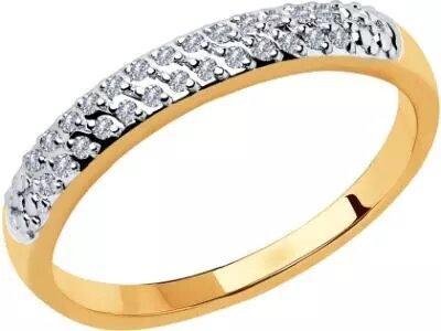Золотое кольцо SOKOLOV 1011798_165