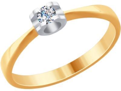 Золотое кольцо SOKOLOV 1011737_17