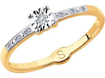 Золотое кольцо SOKOLOV 1011713_17