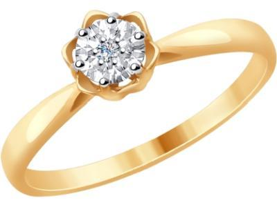 Золотое кольцо SOKOLOV 1011702_165