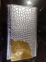 Женское портмоне серебро Ver
