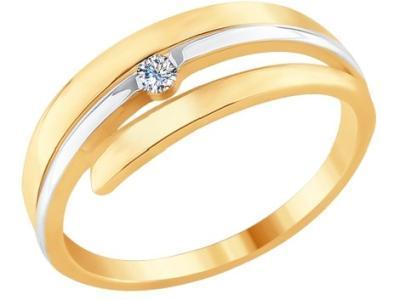Золотое кольцо SOKOLOV 1011668_175
