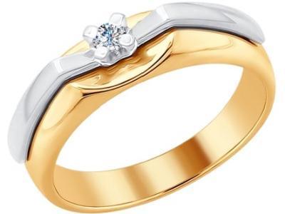 Золотое кольцо SOKOLOV 1011652_17