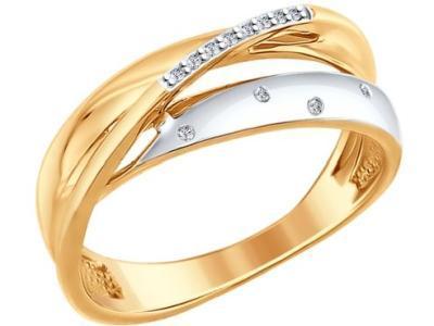 Золотое кольцо SOKOLOV 1011615_175