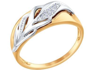 Золотое кольцо SOKOLOV 1011569_175